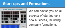 New Start-up businesses and company formations