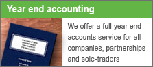 Monthly book-keeping and year end accounts service
